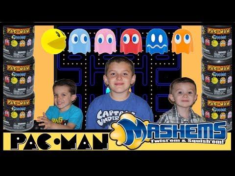 Pac Man Mashems - Pac-Man Mashems Series 1 Squishy Toy Review