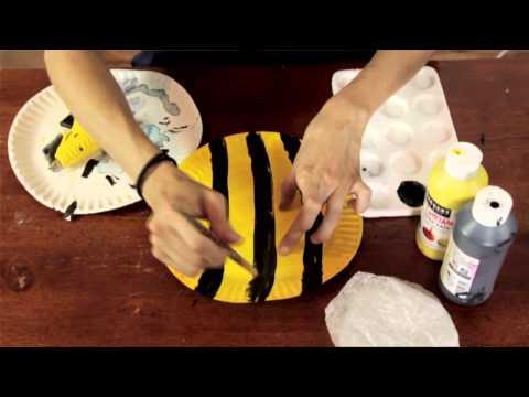 Bee Project in Preschool : Preschool & Kindergarten Crafts