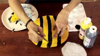 Bee Project In Preschool : Preschool & Kindergarten Crafts