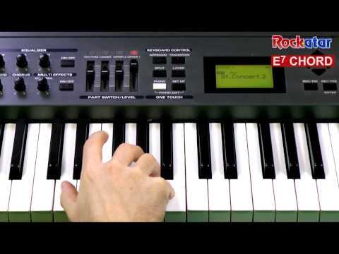 E7 Piano Chord Chordsscales