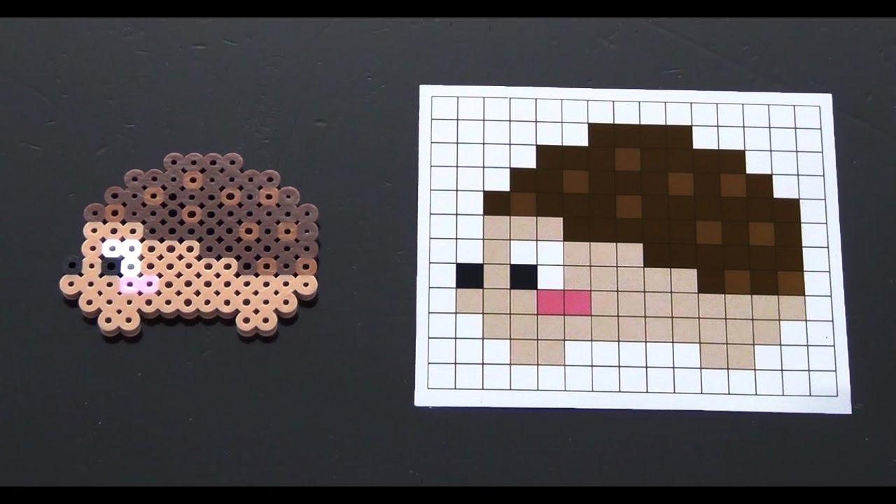How To Make A Cute Perler Bead Hedgehog