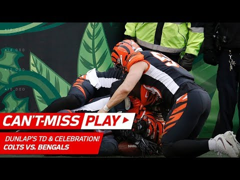 Carlos Dunlap's Clutch Pick Six & Weird Dogpile Celebration! | Can't-Miss Play | NFL Wk 8 Highlights