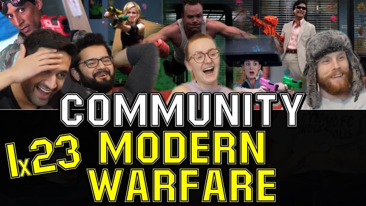 Download Community - 1x23 Modern Warfare - Group Reaction