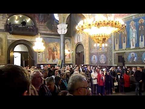28./29.10.2017.Бугарска,Софија-пресвлачење моштију Светог Краља Милутина, велика исцелења тај дан