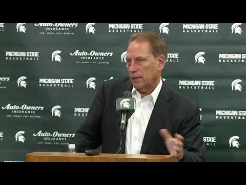 MSU coach Tom Izzo discusses recruitment
