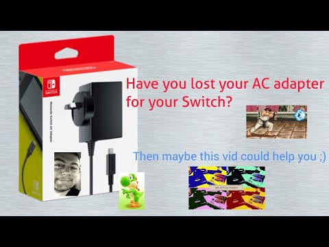 What if I've lost my Switch AC Adapter?: Quick HELP vid by B.O.M. 2017