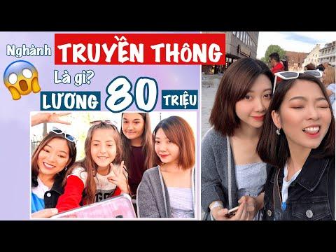 NGÀNH TRUYỀN THÔNG LÀ GÌ? KHÓ hay DỄ? LƯƠNG BAO NHIÊU? Phuong Phuong Nguyen