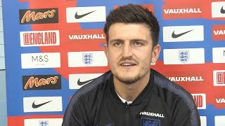 Harry Maguire Interview - Urges England To Play Without Fear