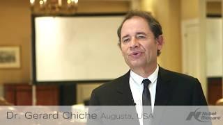 Témoignage du Dr. Gérard Chiche sur le zircone intégrale multicouche et HTML, New York 2016