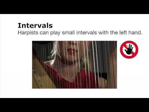 Composing for Harp - Harmonics