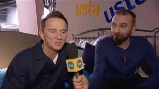 Mecwaldowski i Wilczak o serialu Usta Usta.
