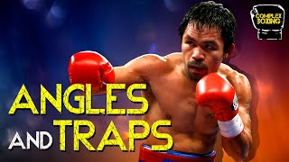 PacMan: Angles and Traps | Boxing Technique Breakdown | Film Study | Manny Pacquiao Breakdown