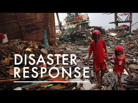 In Disaster Relief Information is Life & Death