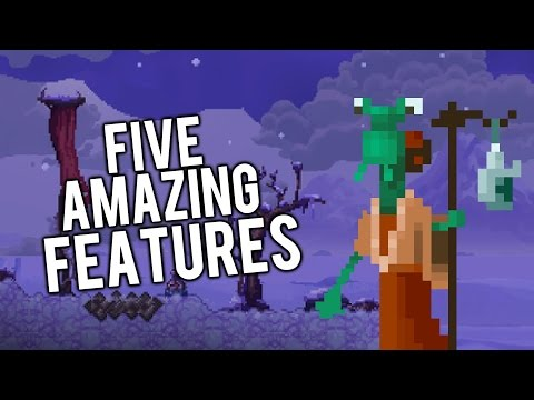 Top 5 Features in Terraria Otherworld! [PC PS4 XBOXONE]