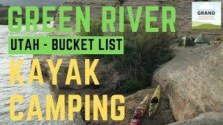 Ep. 95: Green River Kayak Camping | Utah kayaking Canyonlands National Park
