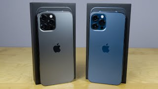 iPhone 12 Pro / 12 Pro Max Graphite vs Pacific Blue - Which to get?