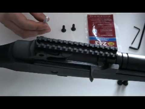 M14 - M1A CASM Scope Mount Installation:  Step by Step