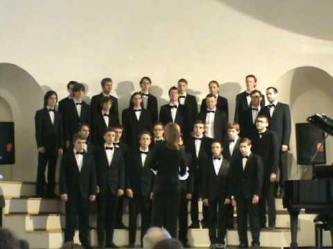 Отчетный хоровой концерт Музыкально-педагогического училища Санкт-Петербурга 2 часть.