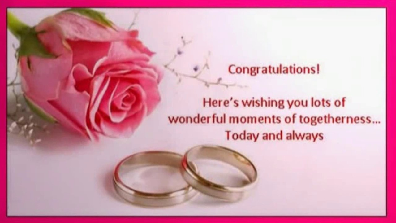Congratulations for engagement messages