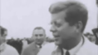 October 20, 1962 - President Kennedy leaving Chicago with a cold during the Cuban Missile Crisis