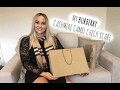 BURBERRY Camel Check Cashmere Scarf UNBOXING and REVIEW | 2017