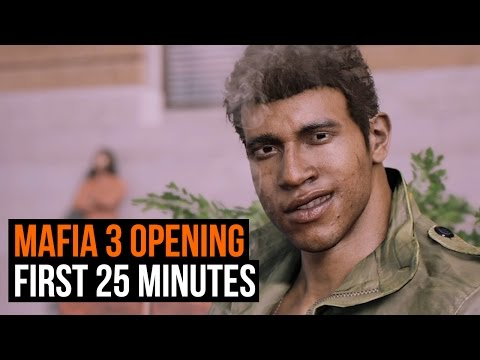 Mafia 3: The First 25 minutes of gameplay