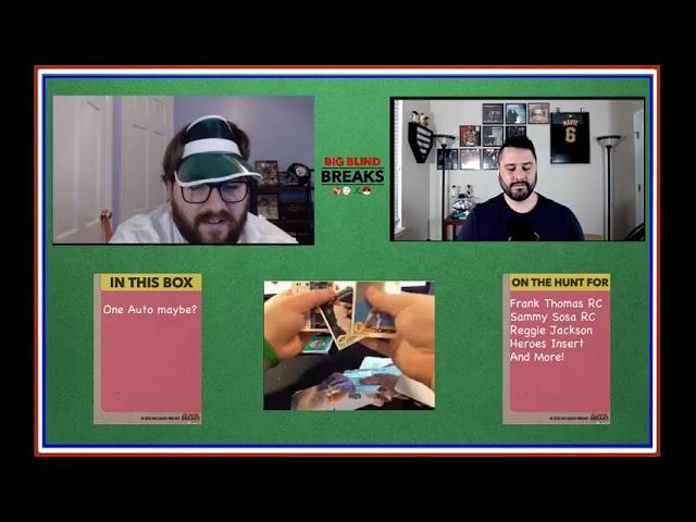 Big Blind Breaks w/Guest Anthony DiNardo