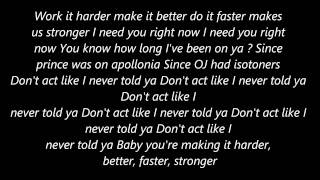 Kanye West Stronger [Lyrics]