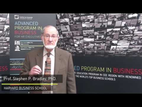 Advanced Program in Business - Prof. Stephen P. Bradley - Harvard Business School