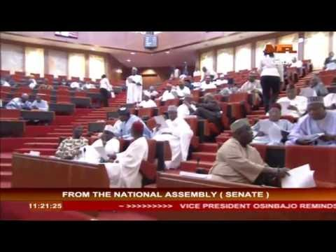 Nigeria  Legislative Siting 12 OCT 2016