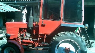 Гидроусилитель руля трактора т 25/Power steering tractor T 25(, 2015-10-10T19:51:17.000Z)