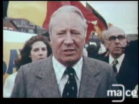 Europe referendum 1975. Interview with Ted Heath
