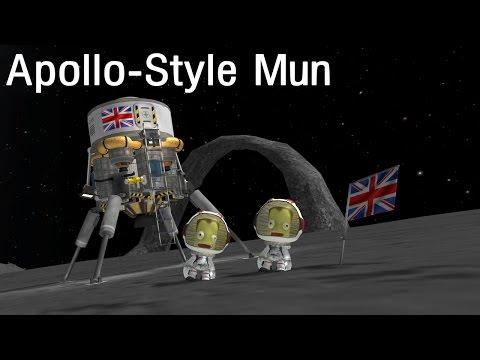 Patreon + Apollo Style Mun!  KSP 1.05