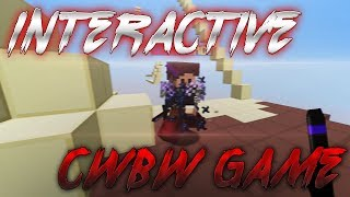The Interactive CWBW Game in Minecraft
