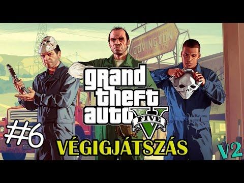 A robbanó ájfon | GTA 5 végigjátszás #6 [PC] videó letöltés