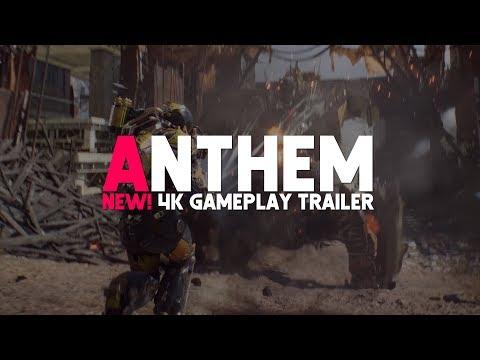 Anthem   New! 4K Gameplay Trailer (Breakdown & Discussion)