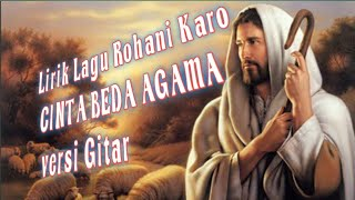 Gambar cover Lirik lagu Rohani karo Cinta beda Agama