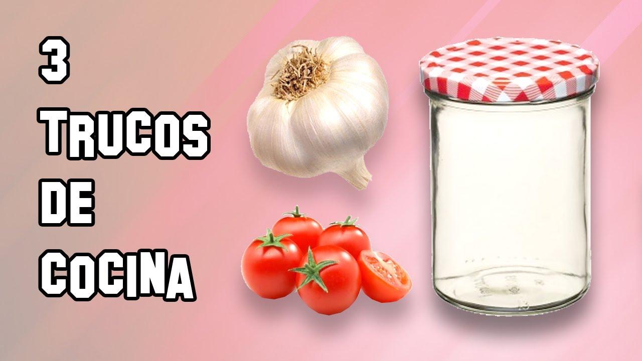 recetas de cocina 3 trucos sorprendentes youtube