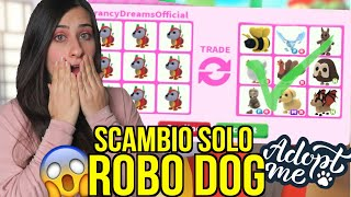 SCAMBIO solo ROBO DOG con PET LEGGENDARI 🐶 Roblox ADOPT ME ITA By FrancyDreams