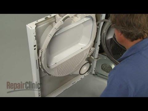 Front Bulkhead - GE Dryer