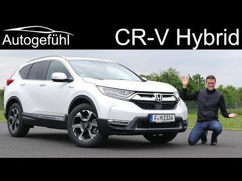 Honda CR-V Hybrid FULL REVIEW 2020 - Autogefühl
