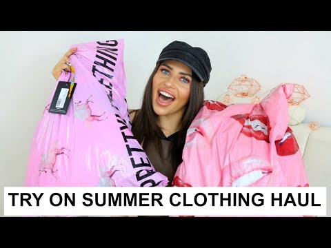 HUGE TRY ON HAUL SUMMER 2017 | MISSGUIDED & PRETTYLITTLETHING