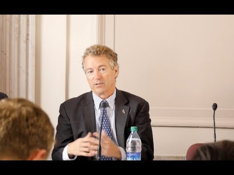 Term Limits Panel featuring Rand Paul
