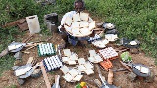 KING of EGG SANDWICH / Prepared by my DADDY ARUMUGAM / Village food factory