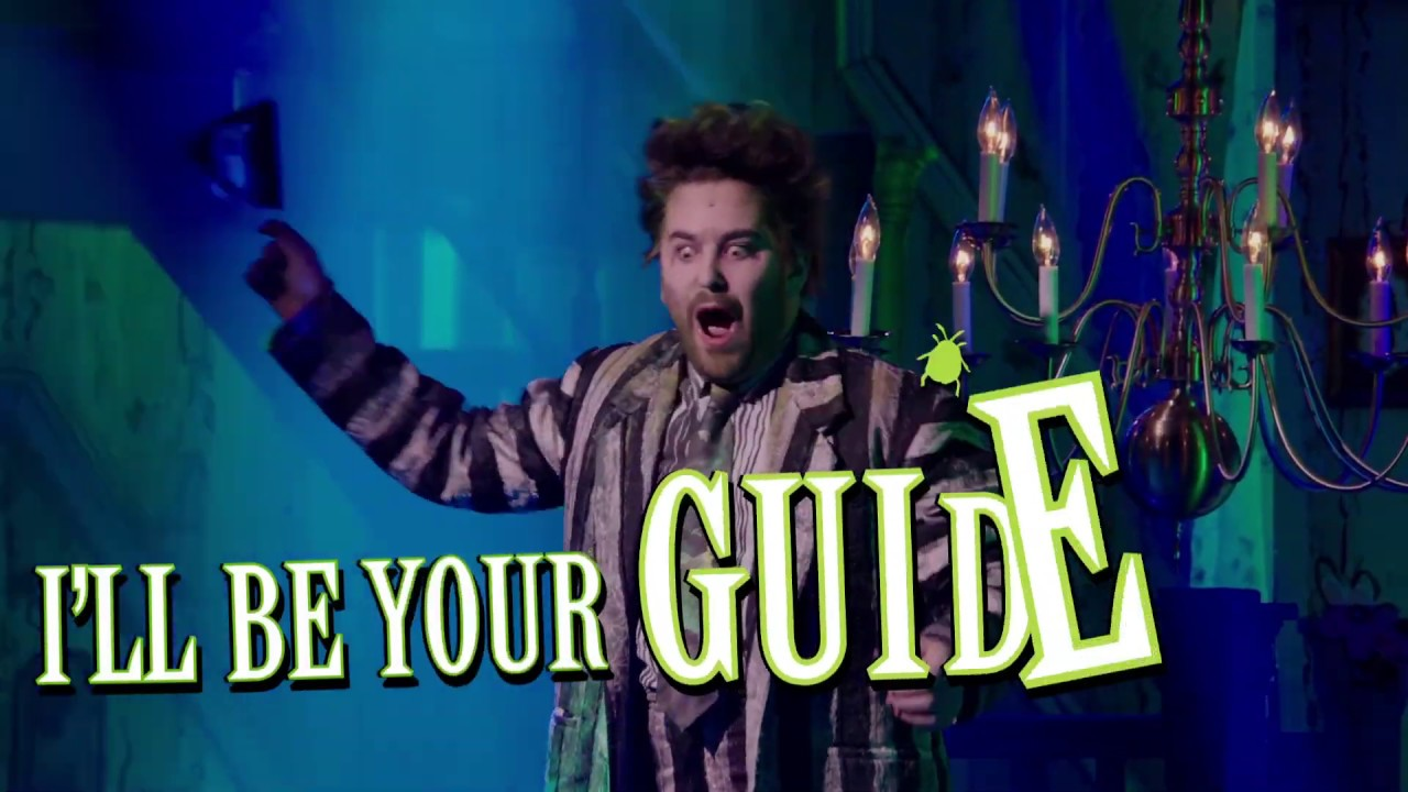 The Whole Being Dead Thing Part 2 Lyric Video Beetlejuice The Musical Youtube
