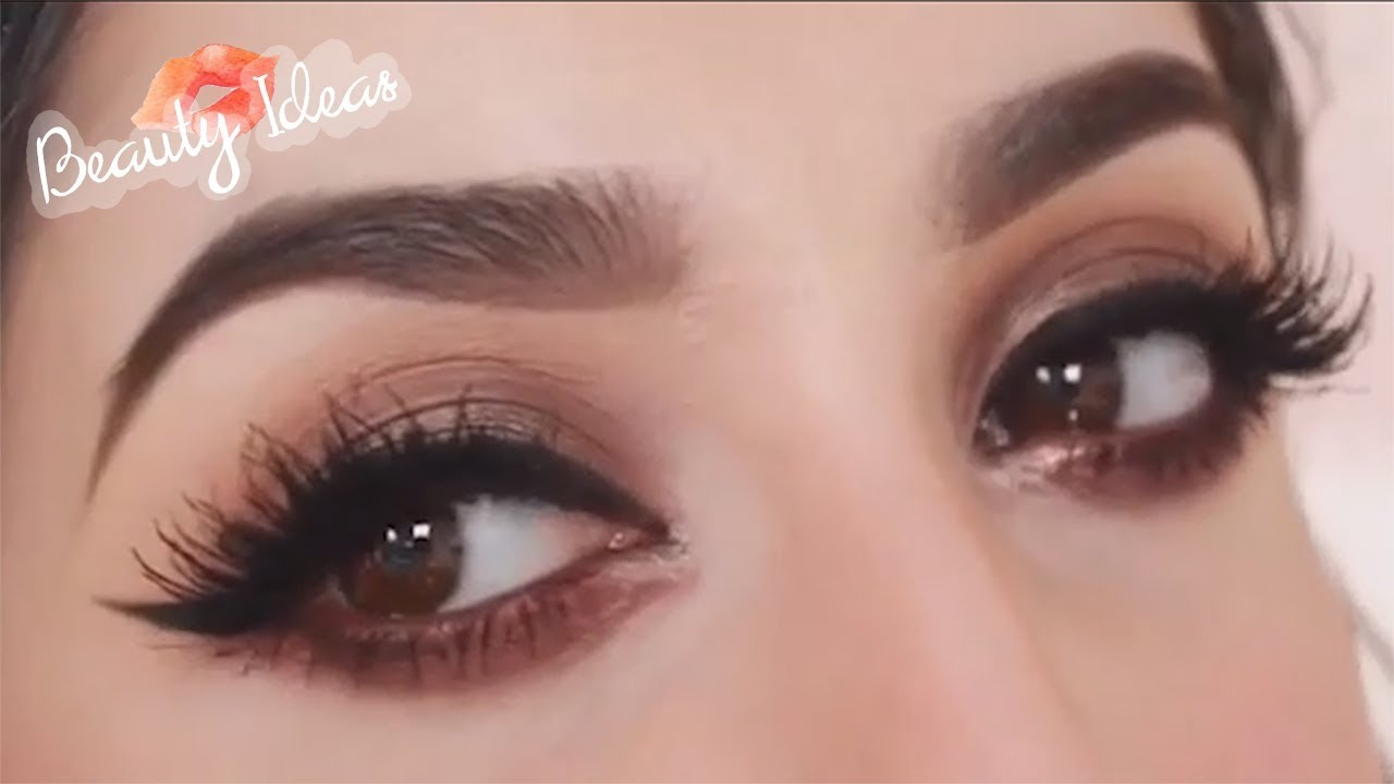 How To Smokey Eye Makeup Tutorial Natural Look 3 Eye Makeup