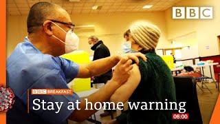 Covid-19: Vaccinated people may spread virus, Van-Tam 🔴 @BBC News live - BBC