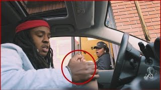 DRIVE THRU PRANKS IN THE HOOD!!  - @Poudii