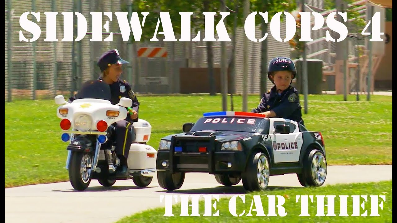 Sidewalk Cops 4 The Car Thief Youtube