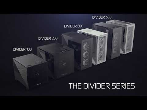 Thermaltake Chassis - The Brand New Chassis Series - The Divider Series